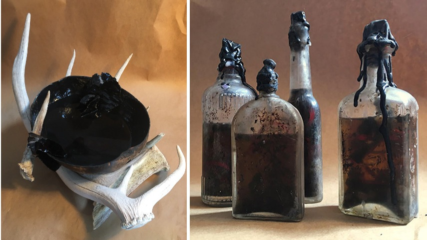 Scrying Bowl, Witch Bottles, 2017