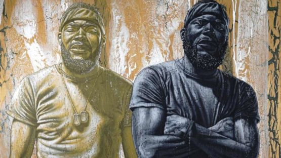 Alfred Conteh - Pat and Lil Pat, 2018 (detail)