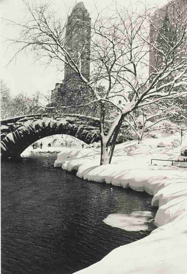 Alfred Eisenstaedt-Central Park After A Snowstorm New York-1959