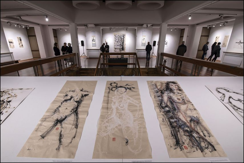 Alfred Freddy Krupa at Vjekoslav Karas Gallery