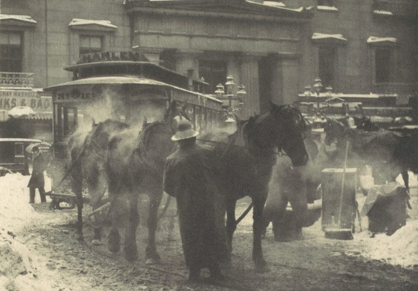 Alfred Stieglitz - The Terminal, 1893 - Image via metmuseumorg