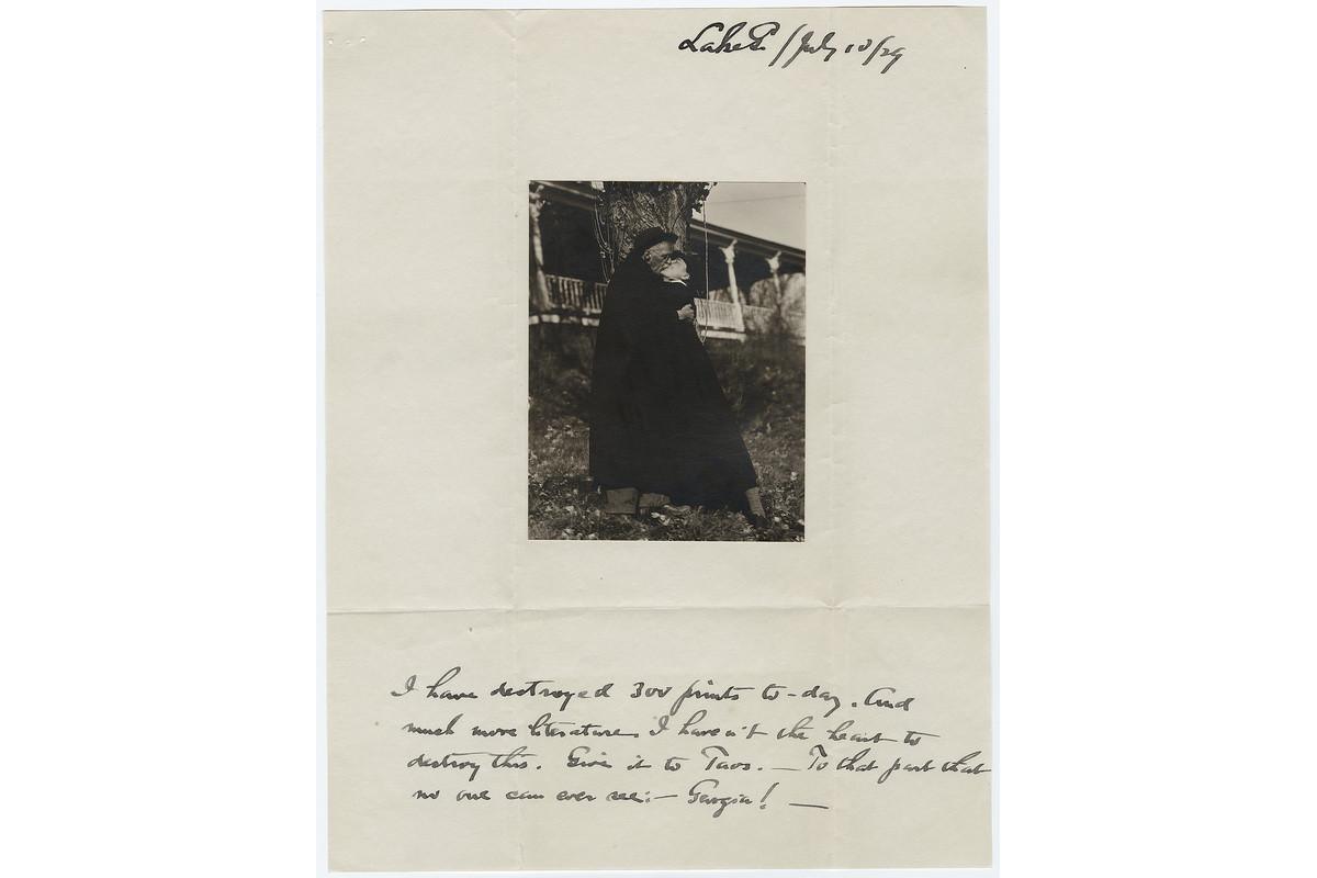 Alfred Stieglitz and Georgia O'Keeffe