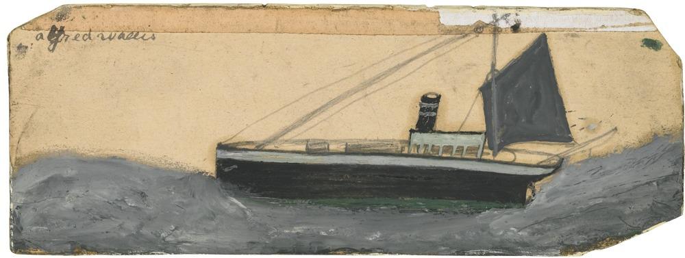 Alfred Wallis-Sailing Boat-