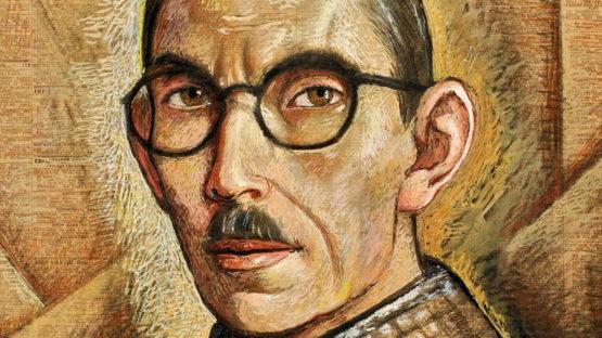 Alfredo Ramos Martinez - Self-Portrait (detail), 1938 - image via louissternfinearts com