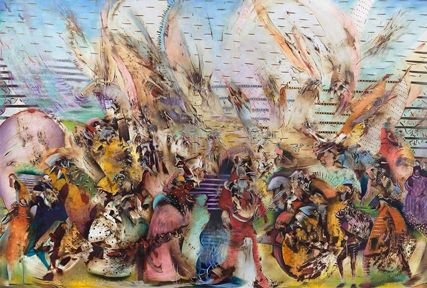 ali banisadr interview New York 2014 march - the artist can see sound