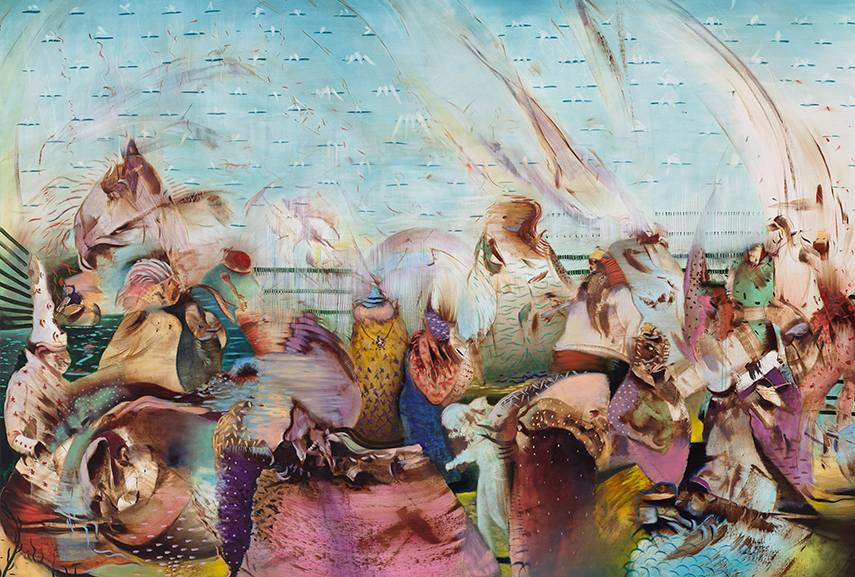 Ali Banisadr interview, march into the new sound of painting 2014