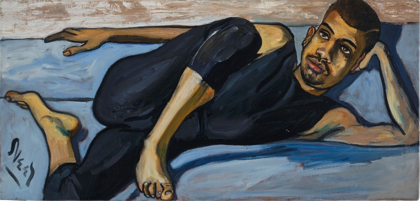 Alice Neel - women life world of Ballet Dancer like work on painting, 1950