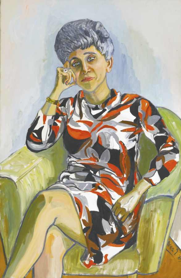 Alice Neel-Irena Koprowska, Seated-1969