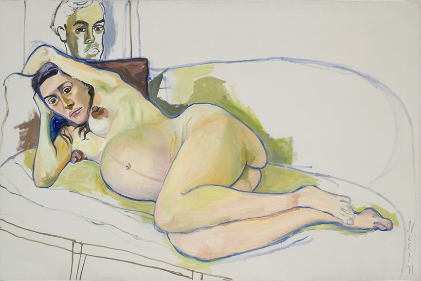 Alice Neel - Pregnant Woman, 1971