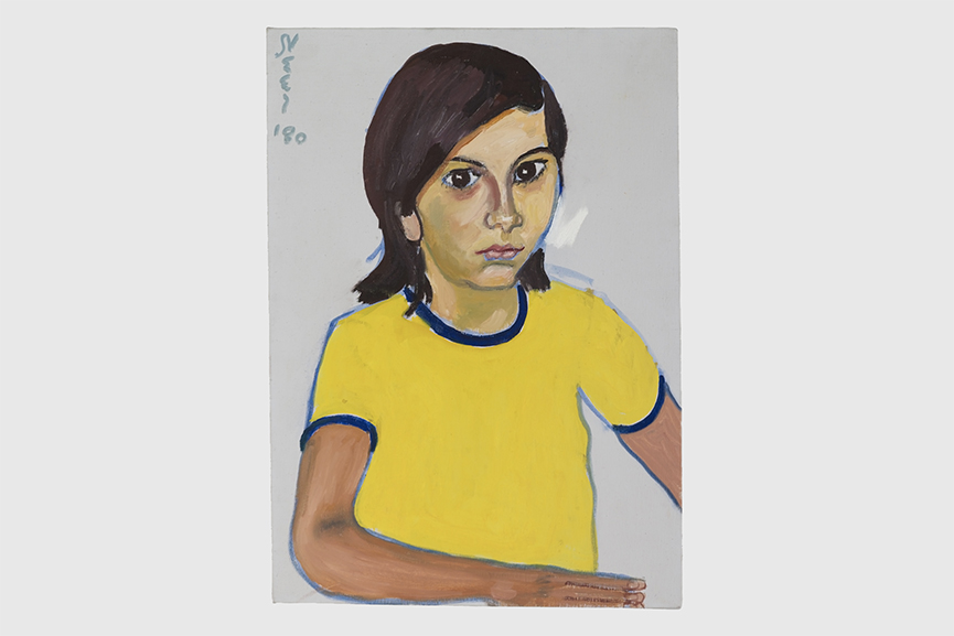 Alice Neel - Veronica, 1980