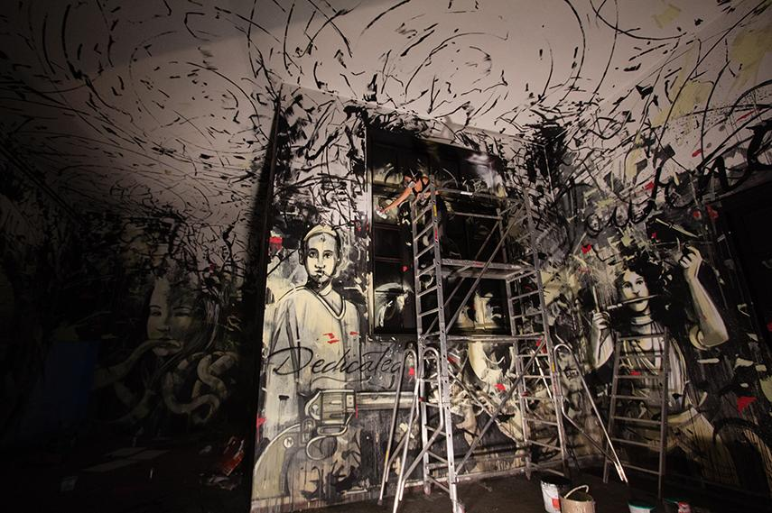 Alice Pasquini Interview, painting, way, people, paint