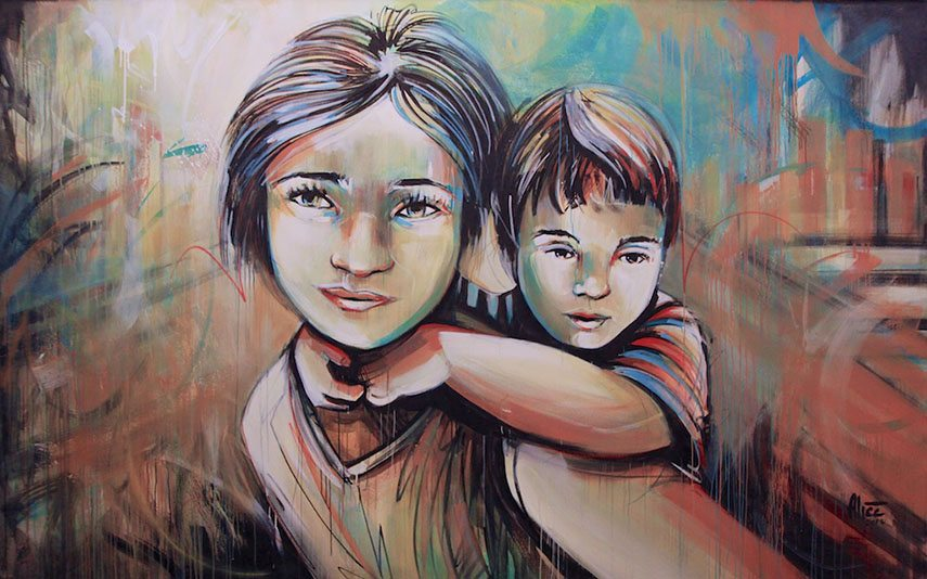 Alice Pasquini - Untitled, 2013  instagram new   instagram new