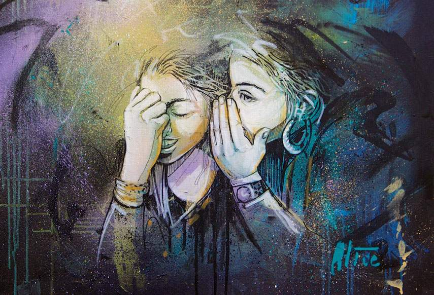 Alice Pasquini - Untitled, 2014