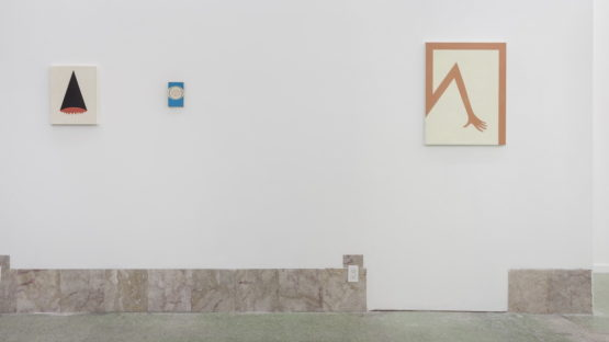 Alice Tippit at Night club, Installation view - image courtesy of Contemporary Art Daily