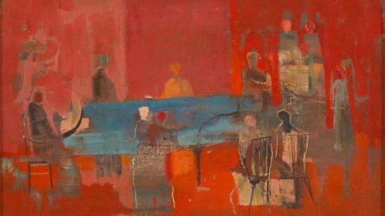 Alice Valenstein - Untitled, ca 1960 (detail)