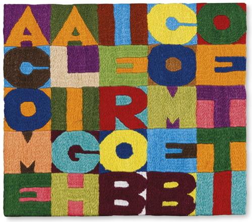 Alighiero Boetti-A Come Alighiero B Come Boetti-1989