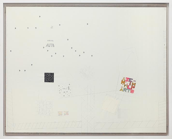 Alighiero Boetti - A tutto tondo mettere al mondo, 1977