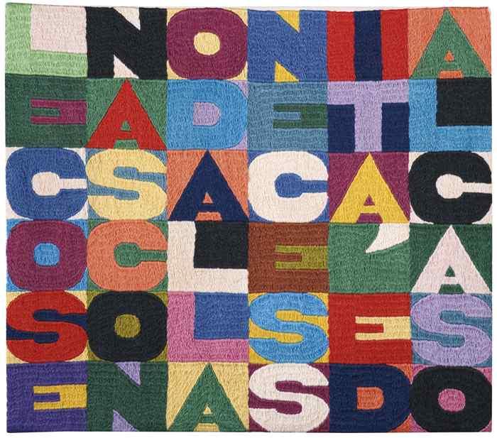 Alighiero Boetti-Le Cose Nascono Dalla Necessita E Dal Caso-1989