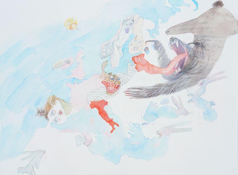 Alina Bliumis - Nations Unleashed Series, 2019. Galerie Anne de Villepoix, Paris