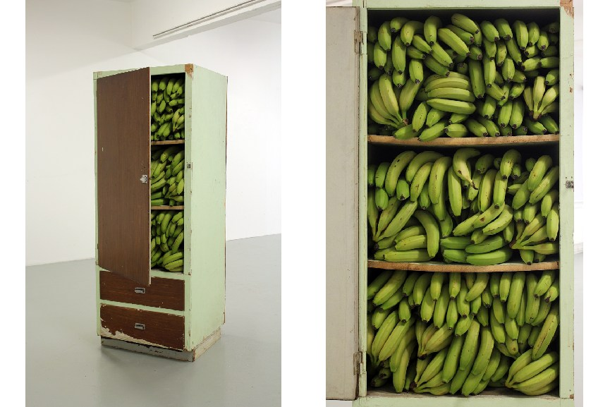 Alina Chaiderov - Before 1989 We Kept The Bananas In The Closet, 2015. Courtesy of the artist