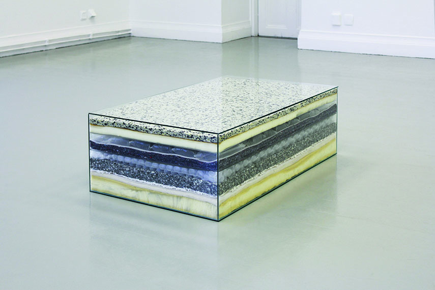 Alina Chaiderov - Spaces Within (Separated from the Outside Air by Layer upon Layer of Protection, 2014.