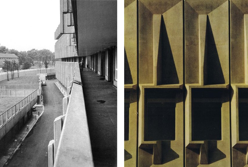 a university building brutalist architecture housing international library university new century 2016. Marcel Breuer worked in city building design