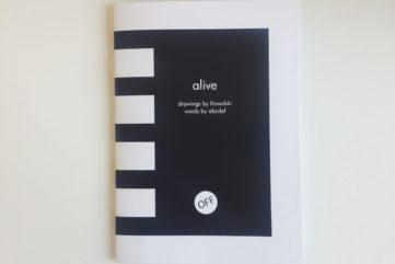Alive Zine cover