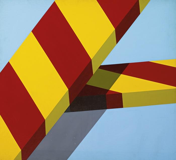 Allan D'Arcangelo-Aspen Colo (A-14)-1967