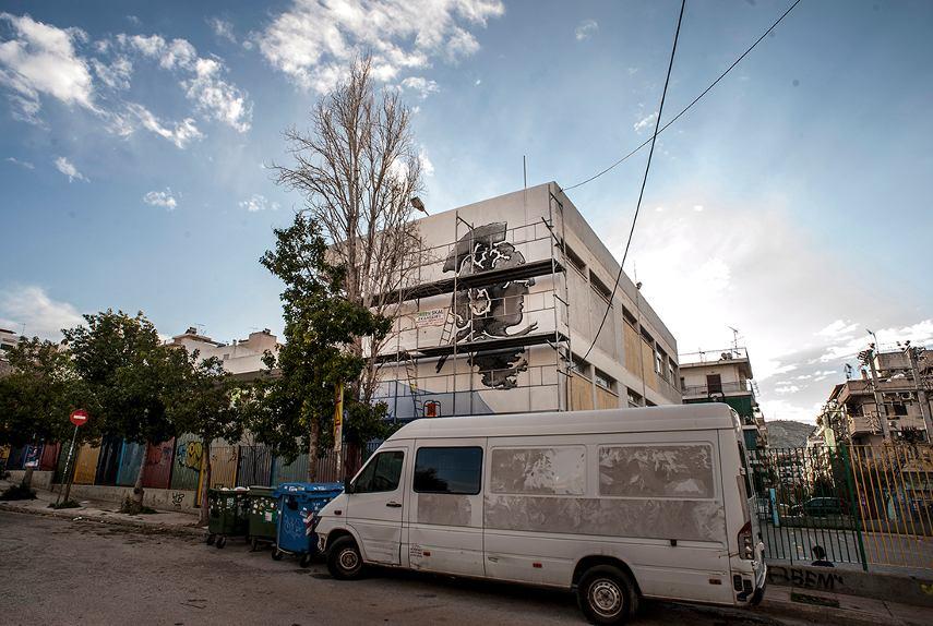 Allegra - Athena - ASAF Athens Street Art Festival, Greece, 2016 (4)