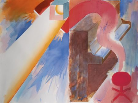 Allen Jones-Enrapture - Diptych-1989