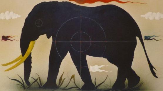 Alois Janak – Black Elephant – Image via ebayimg