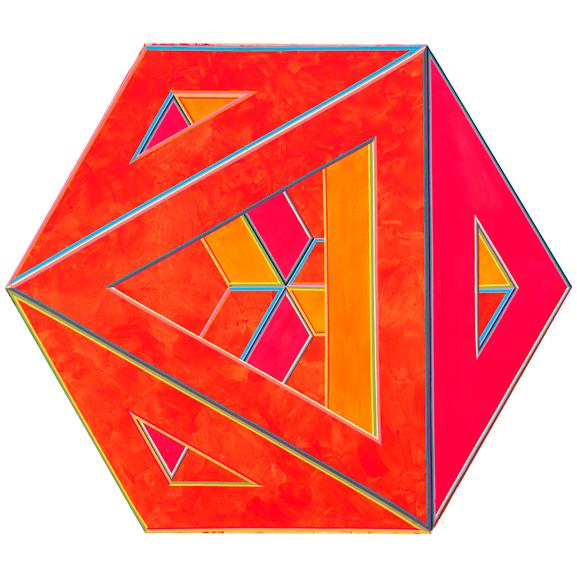 Alvin Loving -Septehedron 34, 1970