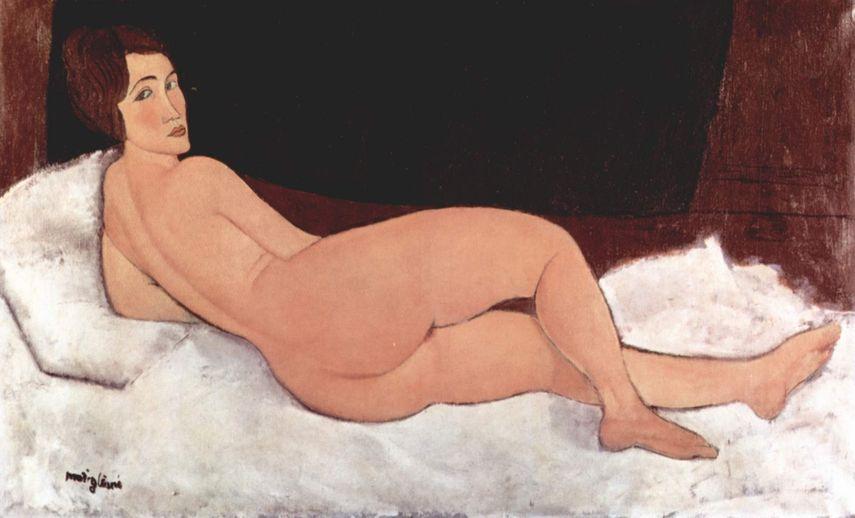 Nude, 1917, created in Paris. Tate Modern 2017