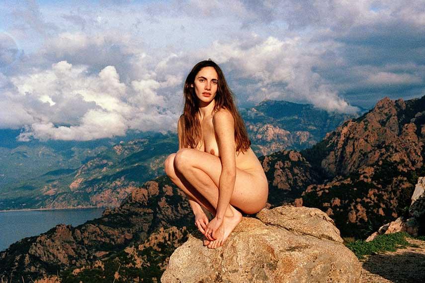 Amanda Charchian female nude photography