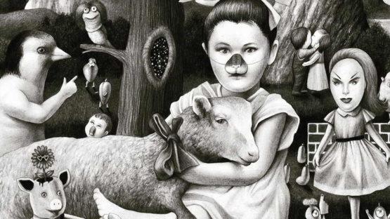 Amandine Urruty - Lamb, 2016 (detail)