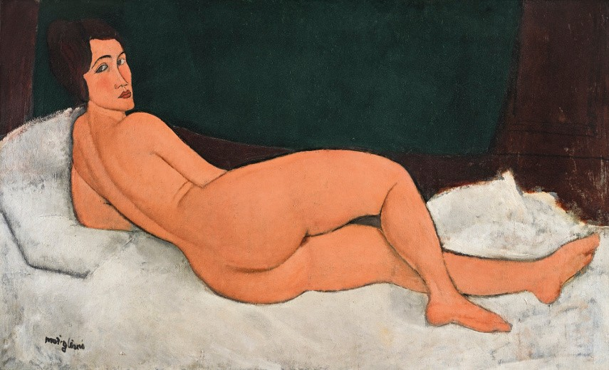 Amedeo Modigliani - Nu couché, 20th century collection in 2018