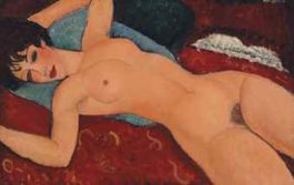 Amedeo Modigliani-Nu couche-1917