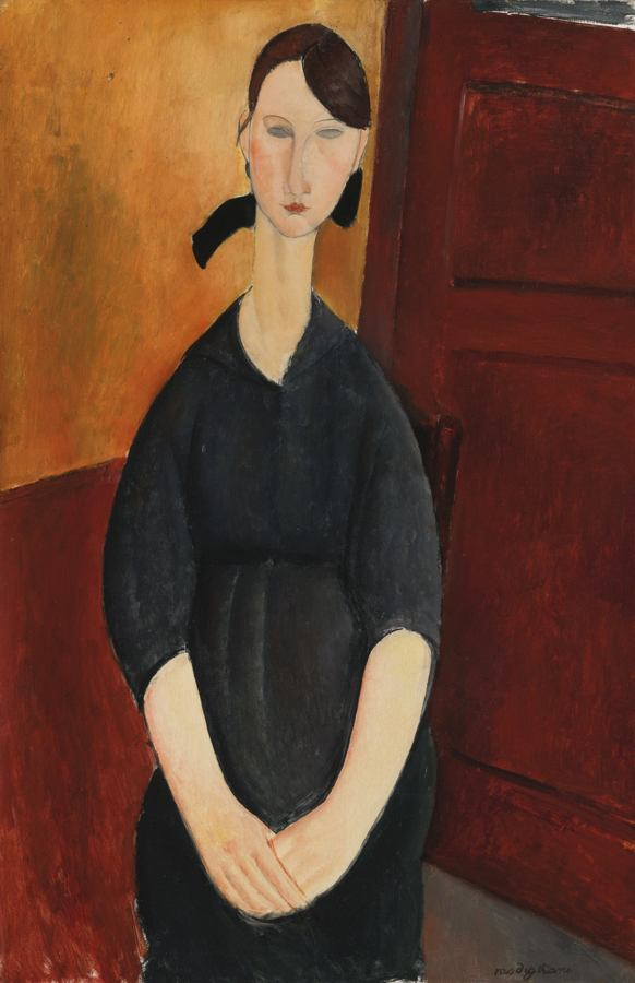 Amedeo Modigliani-Paulette Jourdain-1919