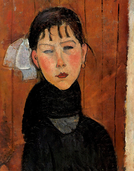 Amedeo Modigliani's Marie, daughter of the people, 1918