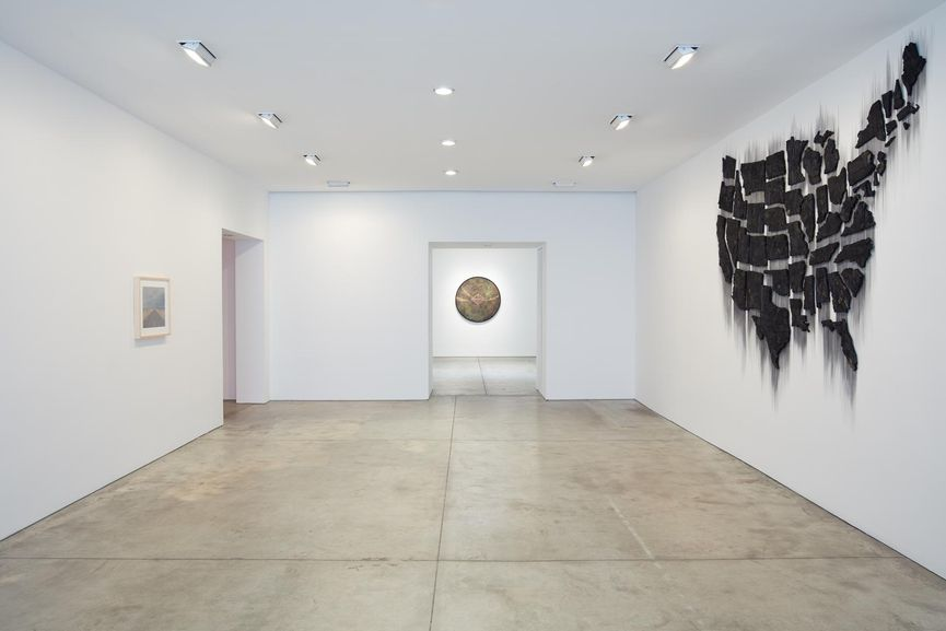 American Landscape at Lehmann Maupin, Installation View