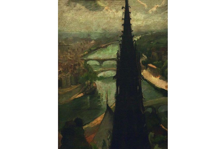 Amrita Sher-Gil - Notre Dame, 1932