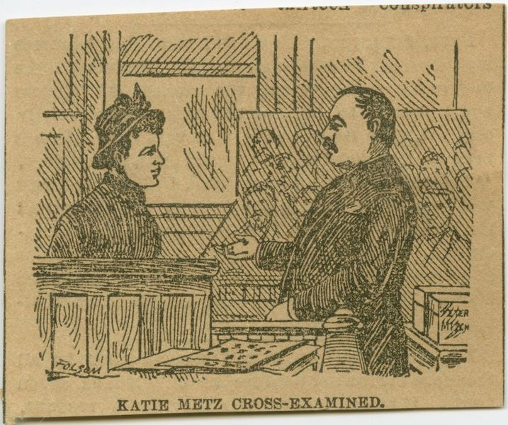 An 1889 courtroom sketch from the trial of ex-Alderman Thomas Cleary, which was published in The New York Times - the art form though time