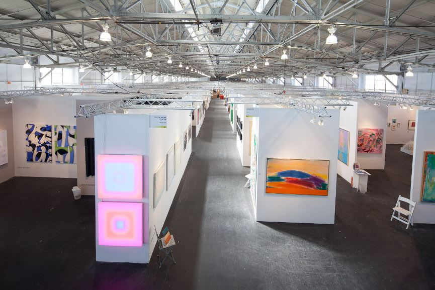 An Art Fair Before Its Opening - Image via artmarketsfcom