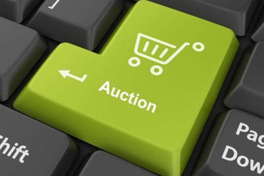 An Auction Enter Button - Image via pinterestcom