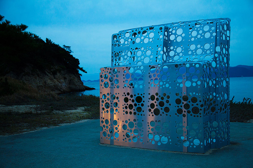 An Installation at The Benesse House Museum on Naoshima island