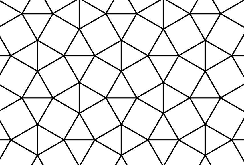 How did tessellation transform from method to art for Tessellating shapes templates