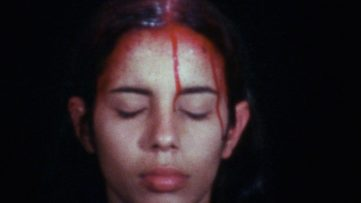 Ana Mendieta - Sweating Blood, 1973