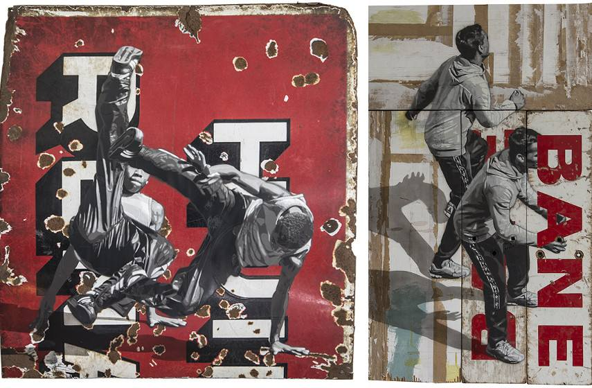 Anders Gjennestad - Hui, 2015 (Left) / Bane, 2015 (Right)