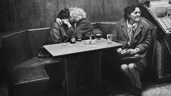 Anders Petersen - Kleinchen and Rose with Mona (detail), Cafe Lehmitz series,1970 - photo credits Jean-Kenta Gauthier