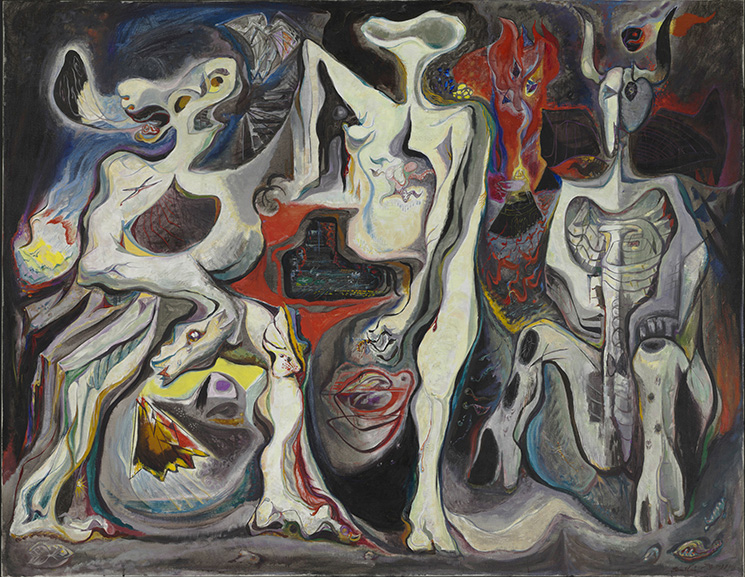 André Masson - There Is No Finished World, 1942